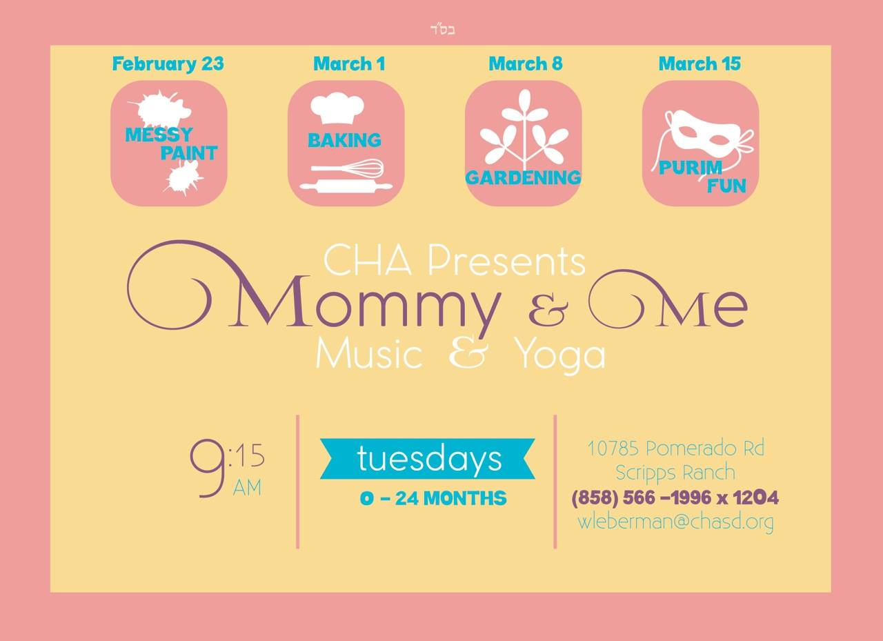 Mommy & Me Yoga and Music Class @ Chabad Hebrew Academy | San Diego | California | United States