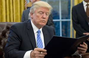President Donald Trump Signs Executive Orders