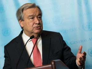 Antonio Guterres Sworn In As New UN Secretary-General
