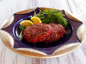beet-and-red-rice-cakes