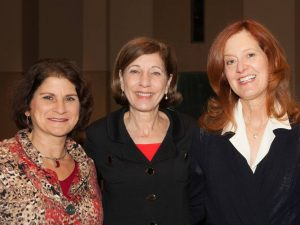 From left to right: Jerri-Ann Jacobs, Councilmember Barbara Bry, and Emily Jennewein (Photo Credit: Melissa Jacobs)