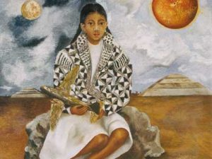 nin%cc%83a-tehuacana-lucha-maria-o-sol-y-luna-by-frida-kahlo-courtesy-sdma
