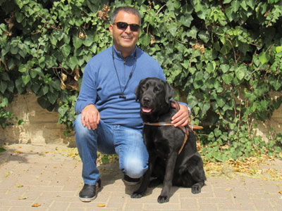 Blind Vet's Guide Dog is More than a Mobility Aid