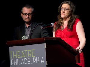 goldfinger-gives-co-speech-with-designer-thom-weaver-at-the-barrymore-awards-while-pregnant