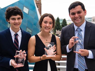 Three San Diego Teens Receive Tikkun Olam Award for Extraordinary Service